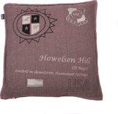 In The Mood Howelsen Tweed Sierkussen - Rood