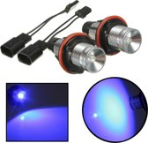 12V LED Blue Headlight Angel Eyes Halo Rings for BMW E39 E53 E60 E64 E66 X3 X5