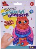 Free And Easy Mozaïekkunst Owl 5-delig