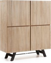 Kave Home - Tiva - Wandkast - Bruin - Hout