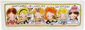 Blond Amsterdam Even Bijkletsen Cakeschaal - 12x33 cm
