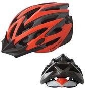 DUNLOP MTB Mountainbike fietshelm - maat L Hoofdomtrek 58-61cm - Oranje