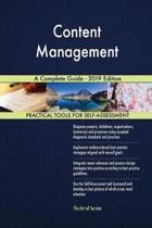 Content Management A Complete Guide - 2019 Edition