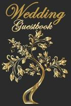 Wedding Guestbook: A Wedding Guest Book (Memory Signature Message Book)