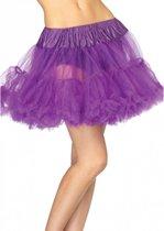 Leg Avenue luxe petticoat/tutu paars