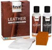 Oranje Leather Care Kit Wax en Oil (2x 150ml)
