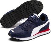 PUMA Vista Jr Sneakers Kinderen - Peacoat / Puma White - Maat 39