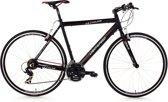 Ks Cycling Racefiets 28 inch fitness-bike Lightspeed (zwart) met 21 versnellingen -
