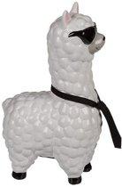 Spaarpot alpaca / lama met zonnebril 14 cm