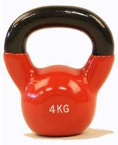 Focus Fitness - Kettlebell - 4 kg - Rood