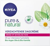NIVEA Pure & Natural Verzachtend Dagcrème - 50 ml