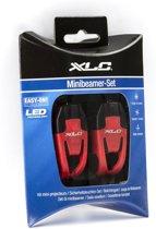 XLC Safety Fiets Verlichtingsset - Led  - Rood
