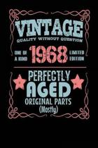 Vintage Quality Without Question One of a Kind 1968 Limited Edition Perfectly Aged Original Parts Mostly