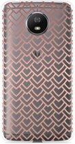 Motorola Moto G5S Hoesje Pink Pattern