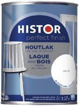 Histor Perfect Finish houtlak zijdeglans wit 1,25 L