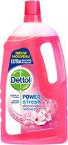Dettol Power & Fresh - Allesreiniger - Kersenbloesem - 1 liter