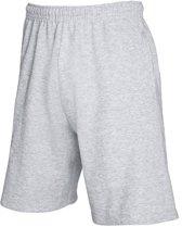 Heren korte broek / short / sportbroek grijs M