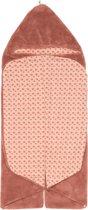 Snoozebaby Wikkeldeken Trendy Wrapping (80x80cm) Roest