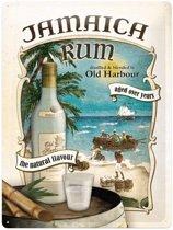 Muurdecoratie Jamaica rum 30 x 40 cm