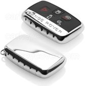 Range Rover SleutelCover - Chroom / TPU sleutelhoesje / beschermhoesje autosleutel