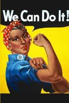We Can Do It!: Rosie the Riveter: Blank Journal For Ethnic Equality And Feminists - Latino Black Women of Color African