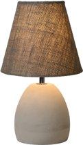 Lucide SOLO - Tafellamp - Ø 18 cm - E14 - Taupe