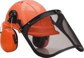 Veiligheidshelm met vizier en gehoorbeschermer PW98