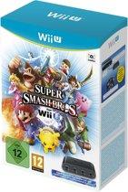 Super Smash Bros. Wii U - GameCube Controller Adapter bundel