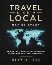 Travel Like a Local - Map of Evora