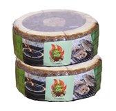 Eco Wood Grill FSC - set van 2 - Met gratis grillrooster