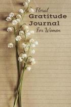 Floral Gratitude Journal For Women
