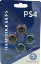Rode & Blauwe Cirkel - PS4 PlayStation Controller Thumb Grips