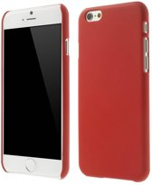 Rubber Coating Hardcase iPhone 6(s) - Rood