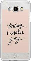 Samsung Galaxy J7 2016 hoesje - Choose joy