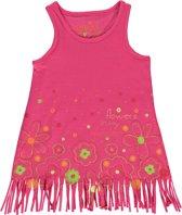 Losan  Meisjes  Top Roze met rafels  - Maat 92