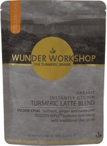 Wunder Workshop - Instantly Golden Kurkuma, Chai Latte – Bio - 150 gram