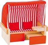 Goki Houten poppen strandstoel voor twee