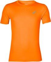 Asics Stride Sportshirt - Maat S  - Mannen - oranje