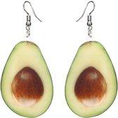 Fako Bijoux® - Oorbellen - Groente & Fruit - Avocado