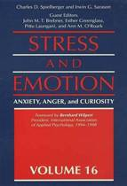 Boek cover Stress and Emotion: Anxiety, Anger, & Curiosity van Charles D. Spielberger