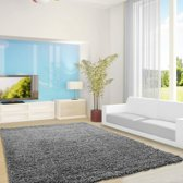 Vloerkleed Life Shaggy Grijs (300x400) Cm