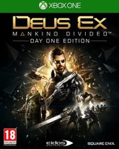 Square Enix Deus Ex: Mankind Divided Day One Edition, Xbox One Basic + DLC Xbox One video-game