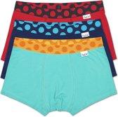 Happy Socks 3-Pack Pop Trunk Heren Boxershort, Maat L