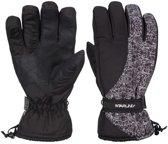 Zwart/witte wintersport handschoenen Starling Noel met Thinsulate vulling voor volwassenen M (8)