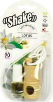 Shake Luchtverfrisser Lotus + Navulling 2 X 4,5 Ml