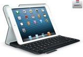 Logitech UltraThin Folio - Toetsenbord Case voor iPad Mini - Qwerty - Zwart