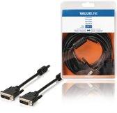 Valueline VLCB32000B50 DVI-D-kabel DVI-D 24 1-pins mannelijk - DVI-D