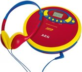 AEG CDP 4228 Kids Line Portable CD player Blauw, Rood, Geel
