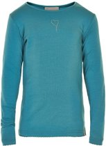Creamie - meisjes shirt - Crissy LS Shirt kolonial - groen