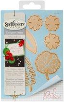 Spellbinders Shapeabilities Die D-Lites - Geraniums And Leaves S4-678.